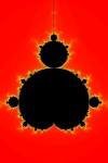 The Mandelbrot Set - created on a computer using mathematics