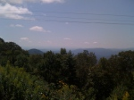 "The Blue Ridge Mountains of Boone, NC. Do you see the ""blue ridge?"""
