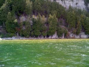 """""""Natural"""" Water Beauty (Green Bay, Lake Michigan)"""