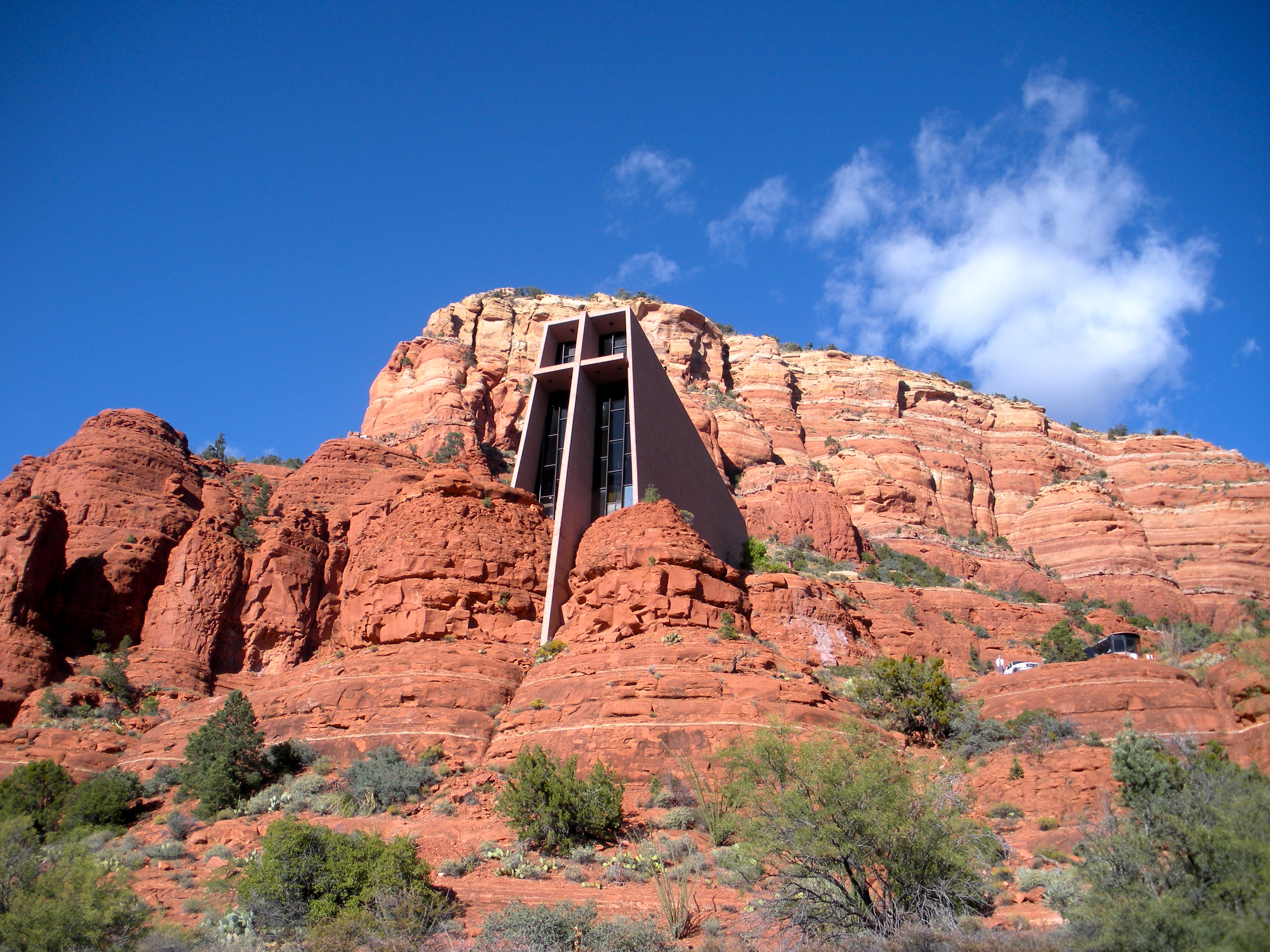 When I Visited The Chapel Of The Holy Cross, In Sedona, AZ, I Had An U201caweu201d  Filled Experience. Sedona Is Known For Being Spiritually Up Lifting.
