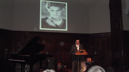 Dan Martin, a good friend of Erik and his family, was the organizer and MC of The Celebration of Life for Erik.