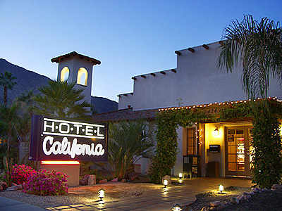 "Hotel California by the Eagles. ""You can check-out any time you like, But you can never leave! """