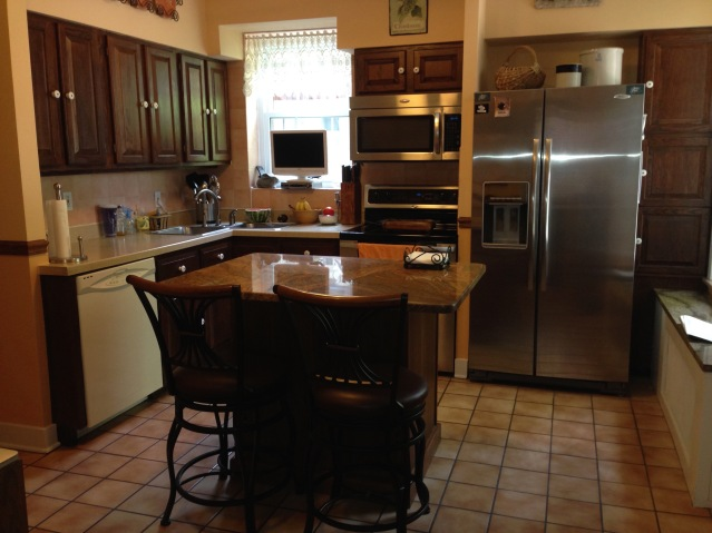 The kitchen. (July, 2015)