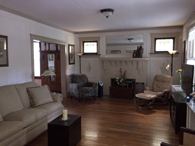 The living room. (July, 2015)