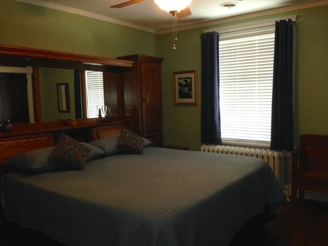 2nd floor master bedroom. (July, 2015)