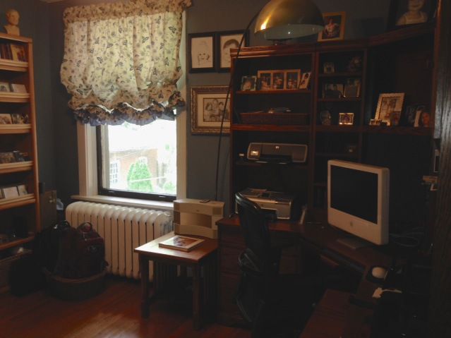 2nd floor extra bedroom, currently used as an office. (July, 2015)
